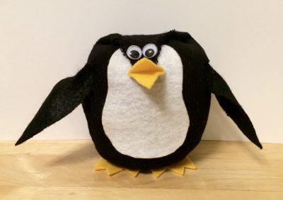 No-Sew Sock Penguin