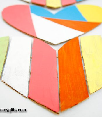 Cardboard Heart Decoration
