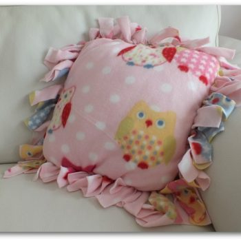 No-Sew Cushion