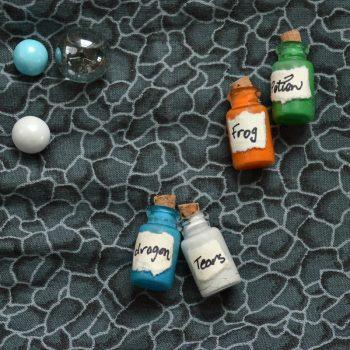 Mini Magic Potion Bottles
