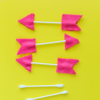 Q-tip Felt Arrows