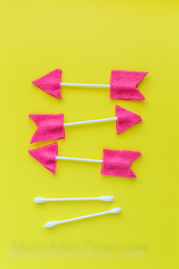 Qtip Felt Arrows