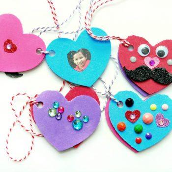 Valentine's Day Foam Heart Locket