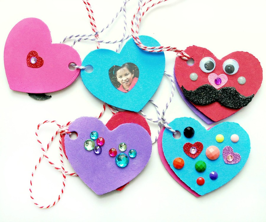Valentine's Day Foam Heart Locket