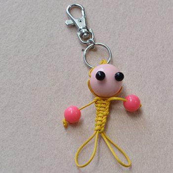 Braided Keychain Character