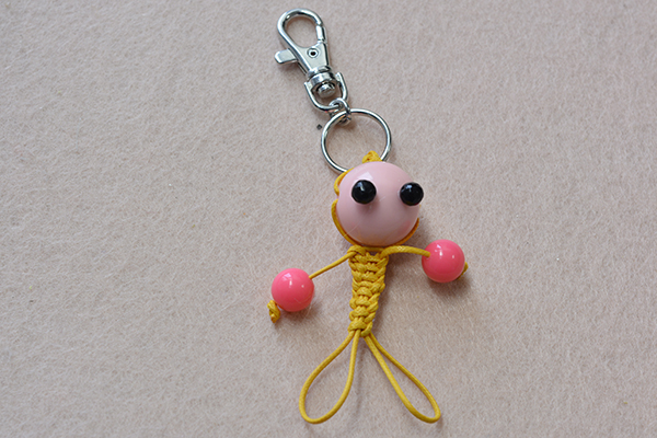 Braided Keychain Character