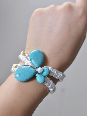 Braided Butterfly Bracelet