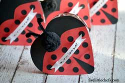 Chocolate Love Bug Valentine