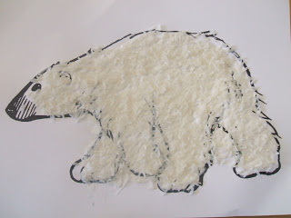 Textured Polar Bear