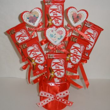 Valentine's Day Candy Bouquet