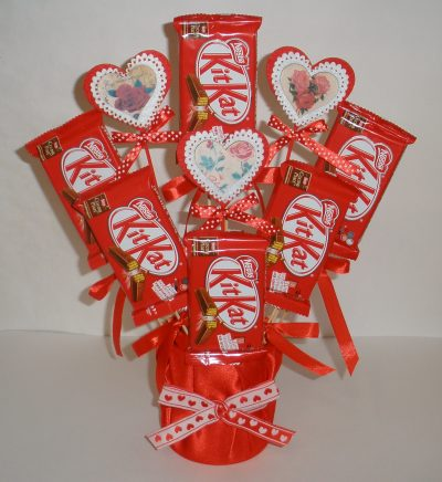 Valentine S Day Candy Bouquet Fun Family Crafts