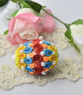 Quilled Easter Eggs