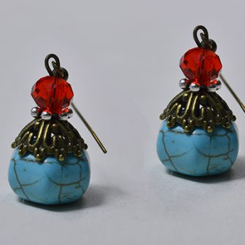 Easy Bead Drop Earrings
