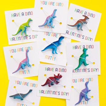 Dinosaur Valentine Printables