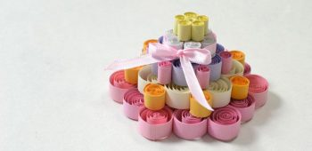 Quilled Paper Cake