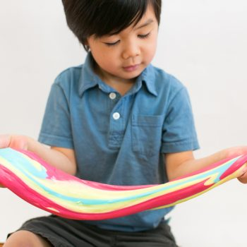Rainbow Neon Slime