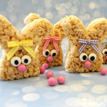 Easy Rice Krispie Bunnies