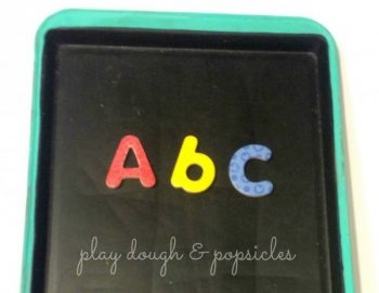 Cookie Sheet Magnetic Chalkboard