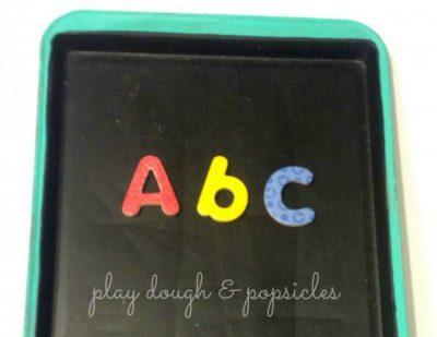 Cookie Sheet Magnetic Chalkboard