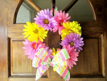 Fun and colorful Spring wreath