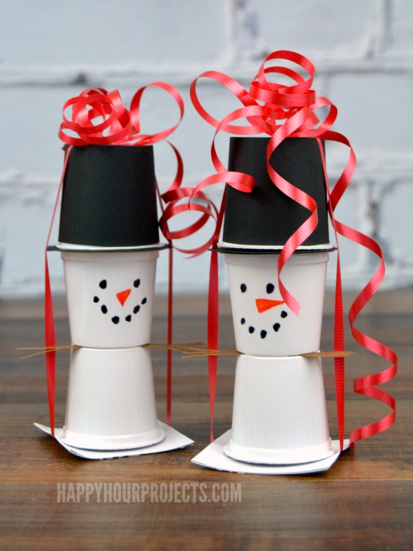 K Cup Snowman Fun Family Crafts