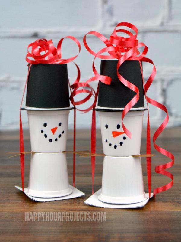 K Cup Snowman