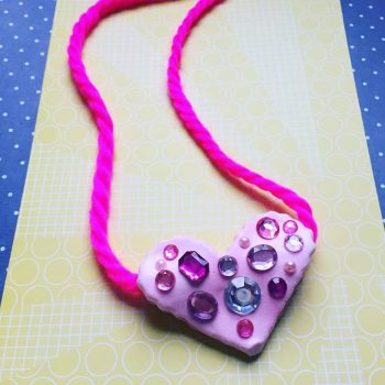Color Me Happy Heart Pendant