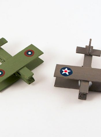 Military Clothespin Airplanes