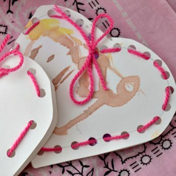 Lacing Heart Valentines