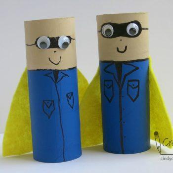 Cardboard Tube Super Scouts