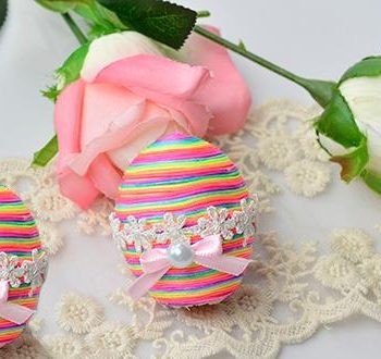 Embellished Easter Eggs