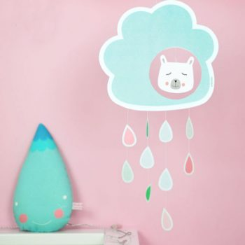 Printable Rain Cloud Mobile