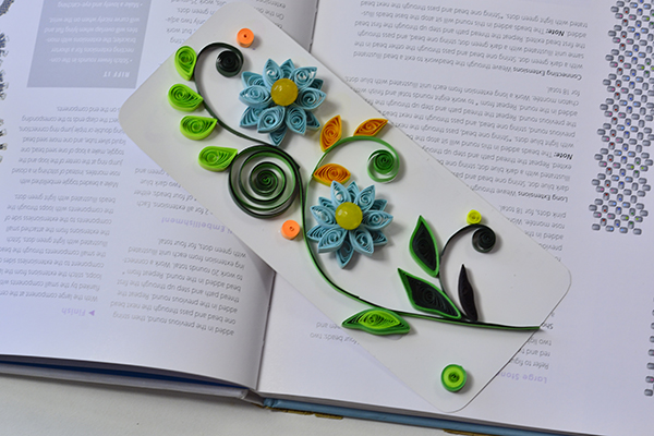 Pandahall Tutorial on How to Make Easy Quilling Flower Cards
