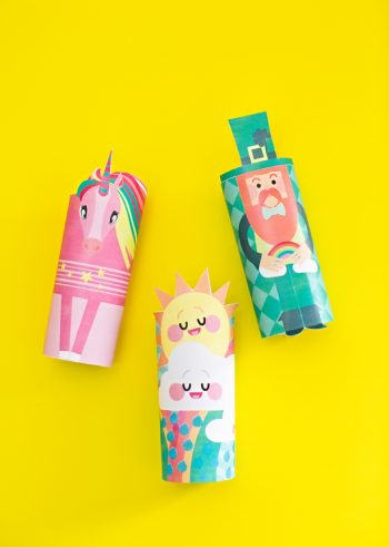 St. Patrick's Day Paper Tube Craft