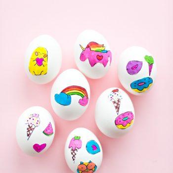 Sticker Art Easter Eggs