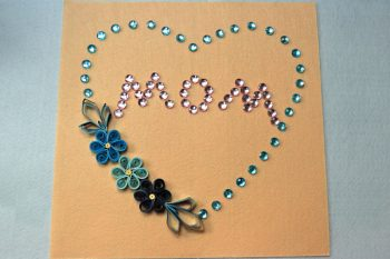 How to Make a Beautiful Wall Decoration Craft for Mother's Day