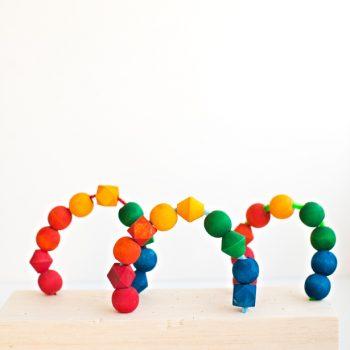 Rainbow Bead Toy
