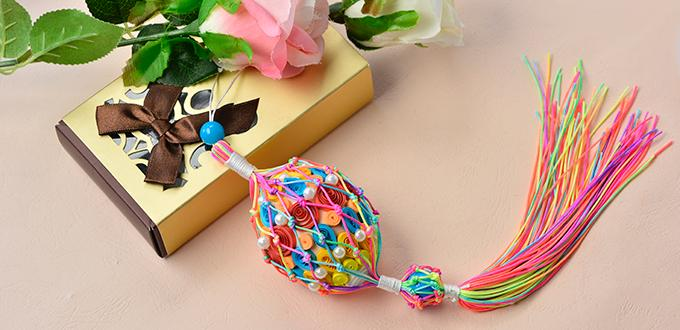 Easter Décor Idea- How to Make Easter Egg Decoration Ornament