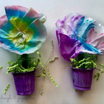 Spring-Inspired Colorful Flower Pot Craft
