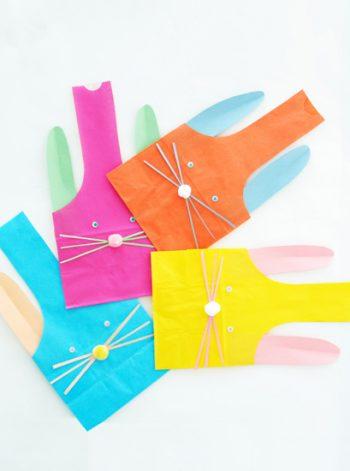 Paper Bunny Treat Bags