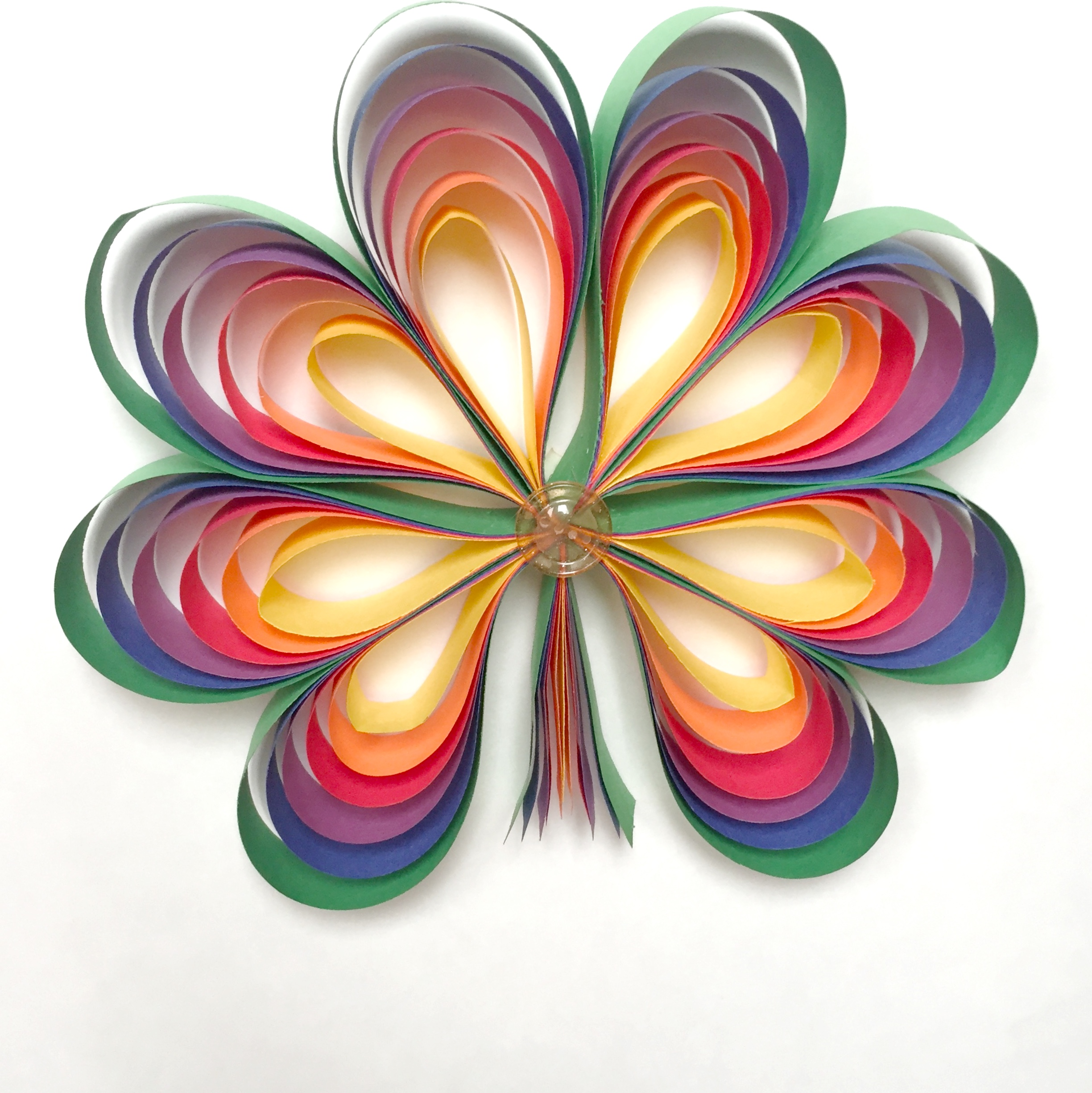 Rainbow shamrocks fun family crafts for Where to buy contact paper for crafts