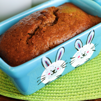 Painted Easter Bunny Bread Pans