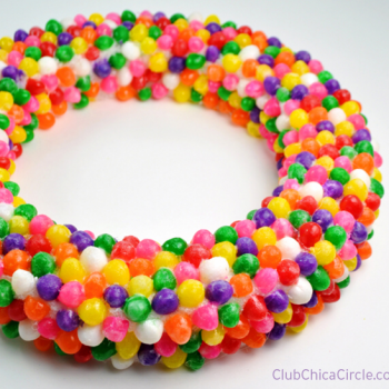 Jelly Bean Wreath