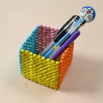 Beaded Pen Holder