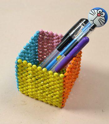 Beaded Pen Holder