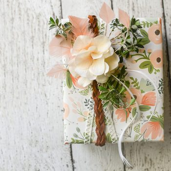 Boho-Style Gift Wrapping
