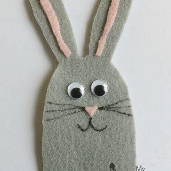Rabbit Finger Puppet
