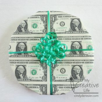 Wrapping a Gift in Money