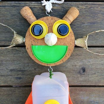 Recycled Puppet Toy
