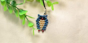How to Make Cute Owl Pearl Beads Hanging Ornaments for Kids